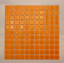 Glass mosaic orange K09