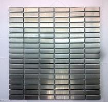 Mozaika  metalowa  INOX  2 silver