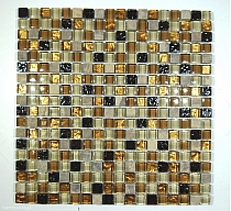 Mosaic Glass + Stone ONIX mix A29