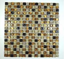 Mozaika Kamienno Szklana   mix A29 ONYX