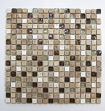 Mosaic Glass + Stone ONIX mix A31