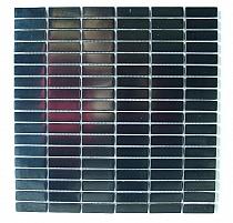 INOX 3 black metal mosaic