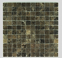 Mozaika Kamienna  Marmur Emperador 2,3x2,3 FM- 157