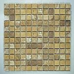 Mozaika Kamienna  Trawertynowa  Trawertyn Golden Sienna  MAR-FM 1500