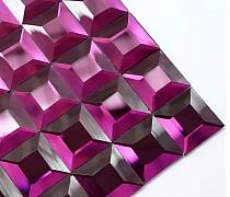 Mozaika Szklana Diamentowa FIOLETOWA A119