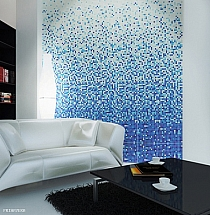 Glass Mosaic Blue DC409