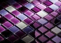 Glass mosaic Colour Variation Violet DC412