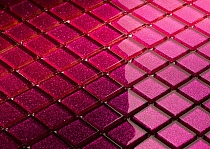 Mozaika Szklana z brokatem RÓŻOWA FUKSJA B115