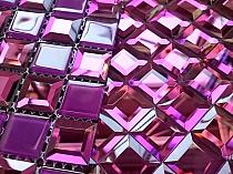 Mozaika Szklana  Diamentowa FIOLETOWA A128