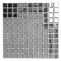 Glass mosaic SILVER A118
