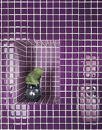 Glass mosaic VIOLET K012