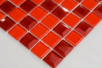 Mozaika Szklana Diamentowa Czerwona A127 vitrum diamond 3D