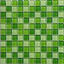 Mozaika Szklana Zielona KM112