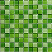 green glass mosaic KM112
