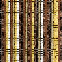 Crystal Glass mosaic Stripes