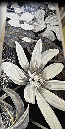 Mozaika szklana flower