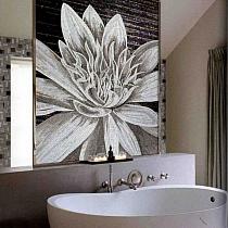 Luxury glass mosaic FLOWER