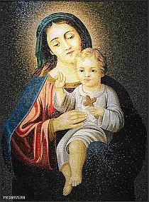 mozaika szklana obraz religijny christian religious