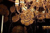 Mozaika Szklana Winter Flowers Ocra Bruna  brązowa