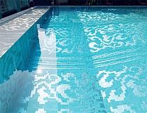 Obrazy z Mozaiki Szklanej  baseny i sauny