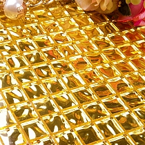 Glass mosaic REAL 24 CARAT GOLD