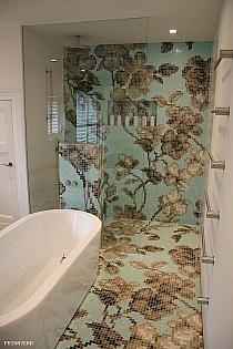 Mozaika szklana Hanami Azzurro