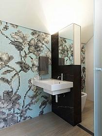 Glass mosaic Hanami Azzurro