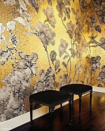 Mozaika szklana Hanami złota gold