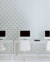 Mozaika szklana Giza Oro Bianco
