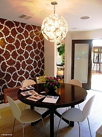 Mozaika szklana Liaisons brązowa