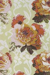 Glass mosaic Fleur
