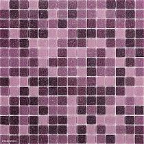 Mozaika szklana fiolet wrzos mix DM404