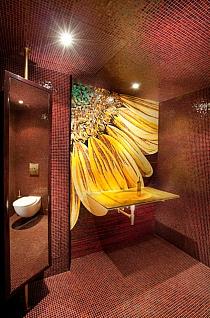 Mozaika szklana  flower colours