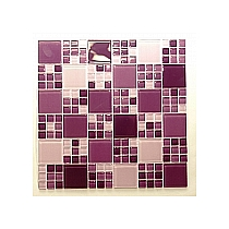 Mozaika Szklana E44 Wrzos Fioletowa