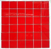 Mozaika Szklana Czerwona K202