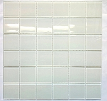 Crystal Glass mosaic White K205