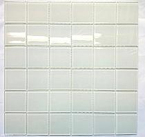 Mozaika Szklana Biała K205