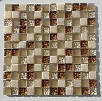 Mozaika Kamienno Szklana   Onix  BEŻOWA mix A26 - promocja