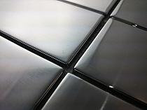 Mozaika Szklana  Srebrna A218 super połysk