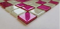 Gold Glitter Glass mosaic MIX  BM131