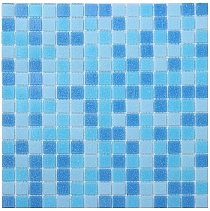Glass mosaic Blue mix CM310/20