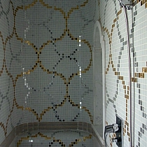 Glass mosaic Liaisons Bianco