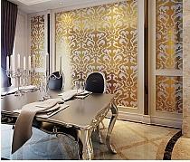 Mozaika szklana Damasco Oro Giallo GOLD ZŁOTA
