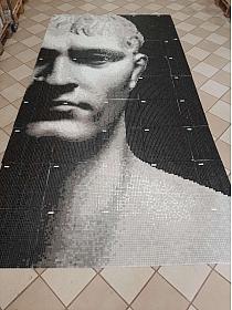 Mozaika szklana  Endimione Wall