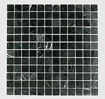 Mozaika Kamienna   Marmur Nero Marquina 2,3x2,3 FM- 156 MAR-FM 156 - COPY
