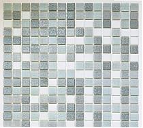 Mozaika szklana szara+biała mix  AM126/20