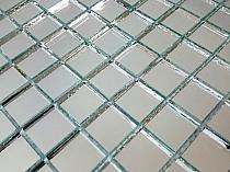 Glass mirror mosaic