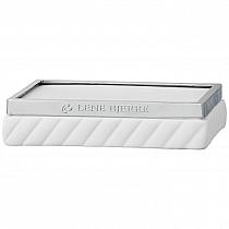 Mydelniczka ceramiczna biała Roberta soap dish Lene Bjerre