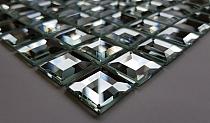 Mozaika Szklana Diamentowa SREBRNA A121 Nova