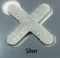 Brokat do fugi Fuga Glitter Silver 100g Kerakoll